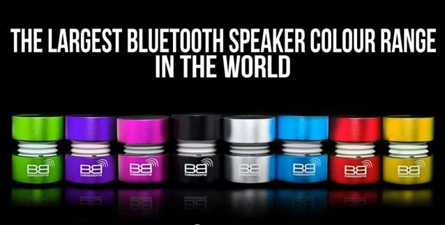 BassBoomz - Coluna Bluetooth de Alta Qualidade
