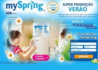 Máquina Água Nestlé