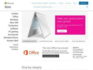 A oferta Surface 2 para estudantes