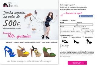 Ganha Sapatos no Valor de 500€