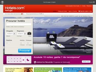 Hotels.com - Promoções de hotéis em todo o mundo